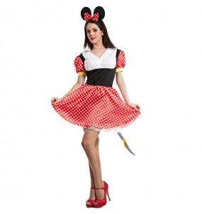 Déguisement Souris Minnie Mouse femme