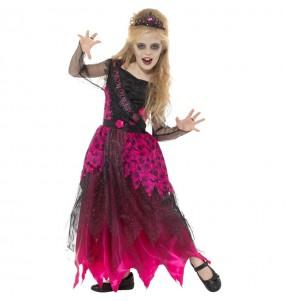 Déguisement Reine de promo zombie fille