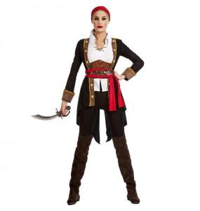 Déguisement Reine Pirate femme