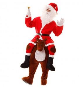 Déguisement Porte moi Renne Père Noël adulte