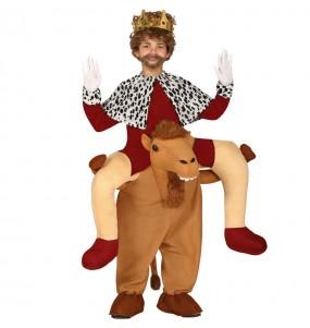 Déguisement Porte Moi Roi Mage et chameau enfant