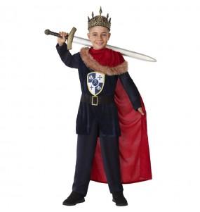 Déguisement Roi Médiéval Templier garçon