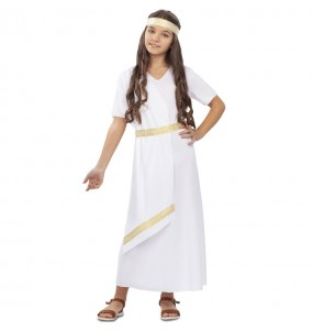 Déguisement Romaine blanche fille