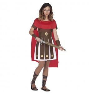 Déguisement Romaine Sparte femme