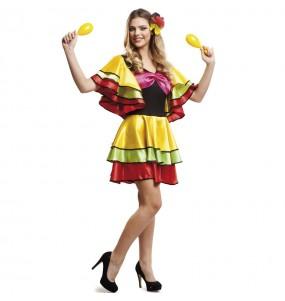 Déguisement Danseuse Rumba Brésil pour femme