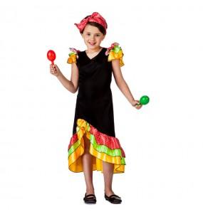 Déguisement Danseuse Rumba Salsa pour fille