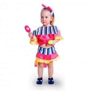 Déguisement Danseuse Rumba Tropicale pour bébé