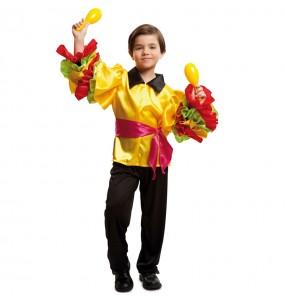 Déguisement Danseur Rumba Brésil pour garçon