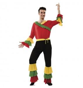 Déguisement Danseur Rumba couleurs homme