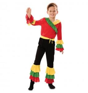 Déguisement Danseur Rumba Rouge garçon