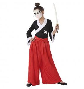 Déguisement Samouraï fille
