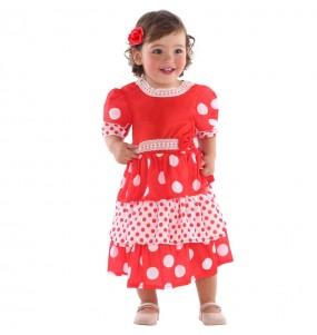 Déguisement Danseuse Flamenco bébé