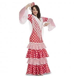 Déguisement Danseuse Flamenco Rouge femme
