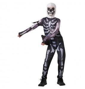 Déguisement Skull Trooper Fortnite garçon