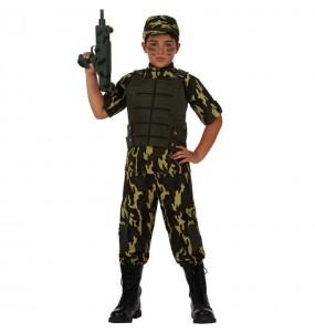 Déguisement Soldat Camouflage enfant