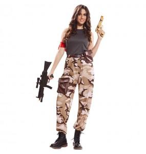 Déguisement Soldat Forces Spéciales femme