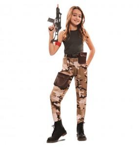 Déguisement Soldat Forces Spéciales fille