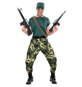 Déguisement Soldat paramilitaire pour homme