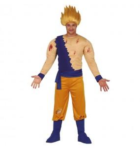Déguisement Son Goku Super Saiyan homme
