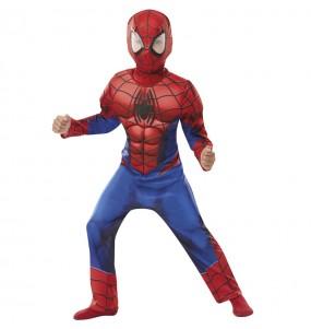 Déguisement Spiderman Deluxe garçon