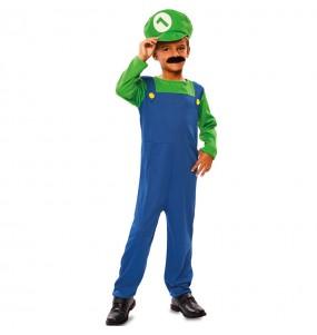 Déguisement Plombier Luigi
