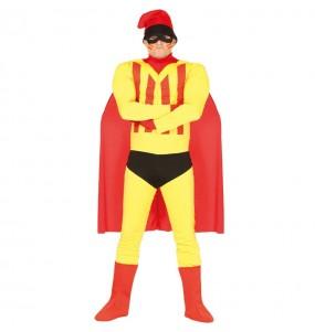 Déguisement Super-héros Catalan adulte