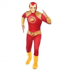 Déguisement Super-héros Flash adulte