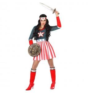 Déguisement Super-héros Amérique femme