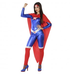 Déguisement Super-héroïne America femme