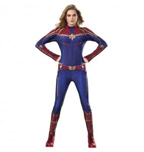 Déguisement Super-héroïne Captain Marvel femme