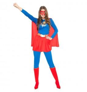 Déguisement Super-héroïne Éclair pour femme