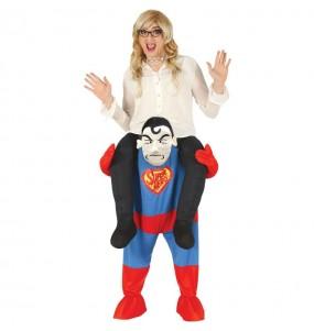 Déguisement Porte Moi Superman adulte
