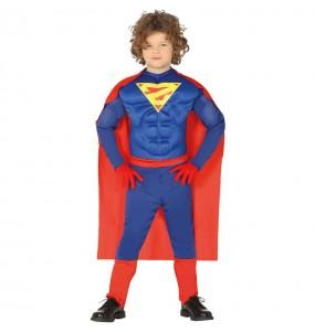 Déguisement Superman musclé garçon