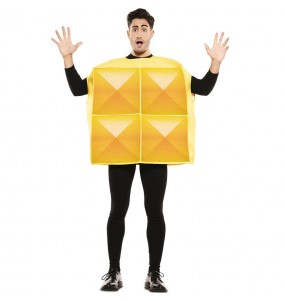 Déguisement Tetris Jaune homme