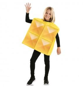 Déguisement Tetris Jaune enfant