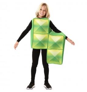 Déguisement Tetris Vert enfant