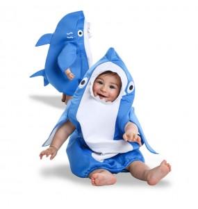 Déguisement Requin Bleu bébé