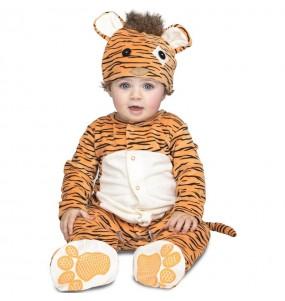 Déguisement Tigre bébé avec doudou