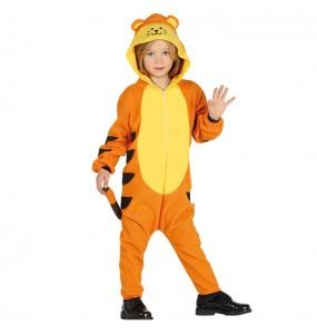 Déguisement Tigre Kigurumi pour garçon