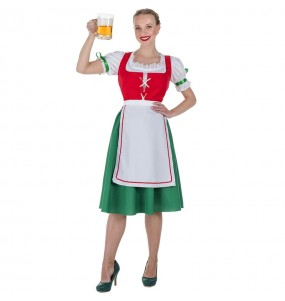 Déguisement Tyrolienne allemande femme