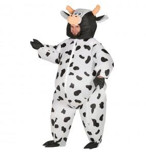 Déguisement Vache Gonflable adulte