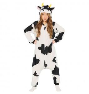 Déguisement Vache Kigurumi fille
