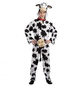 Déguisement Vache laitière homme