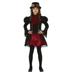 Déguisement Vampiresse Steampunk fille