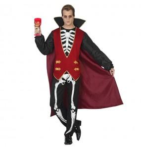 Déguisement Vampire Squelette homme