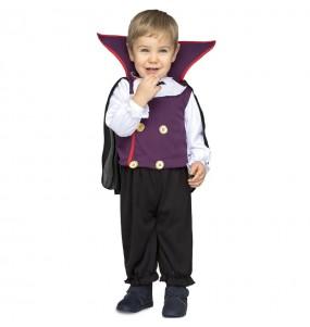 Déguisement Vampire violet bébé