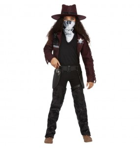 Déguisement Cowgirl zombie fille