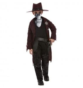 Déguisement Zombie Cowboy garçon