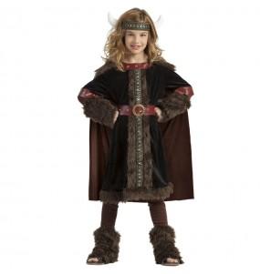 Déguisement Viking Black pour fille
