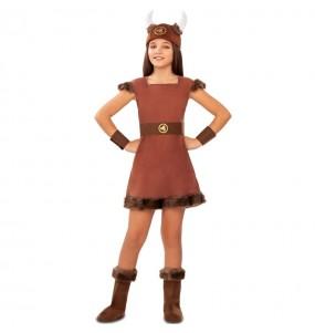 Déguisement Viking Guerrière fille